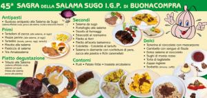 Sagra della Salama da Sugo Tipica di Buonacompra 2019